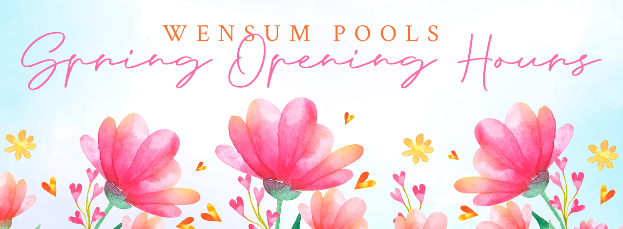 Wensum Pools spring opening hours are now in operation // Wensum Pools Ltd