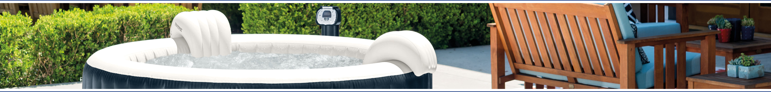 INTEX PureSpa hot tubs from Wensum Pools Ltd