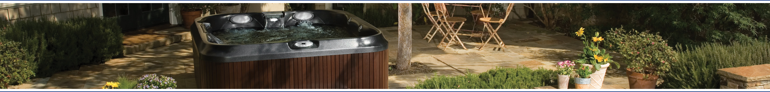 Jacuzzi J-300 hot tubs from Wensum Pools Ltd