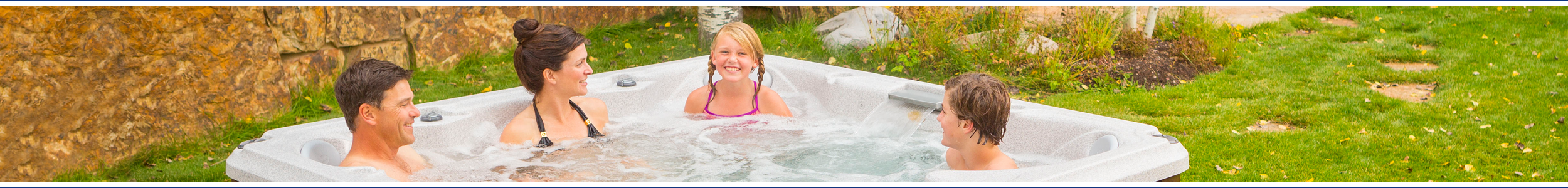 Jacuzzi J-400 hot tubs from Wensum Pools Ltd