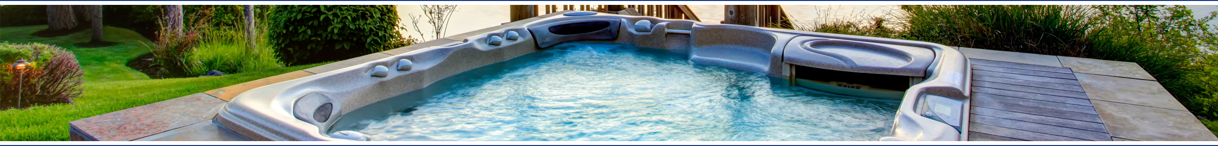 Jacuzzi J-500 hot tubs from Wensum Pools Ltd