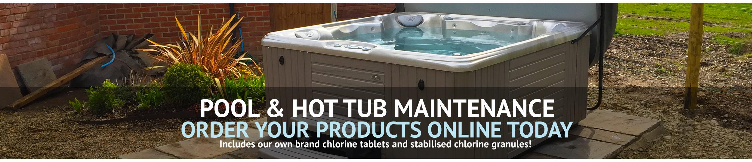 Wensum Pools Ltd Scrolling Banner // Pool & Hot Tub Maintenance