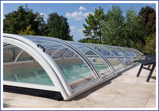 Star Plus Enclosure // Aquacomet Enclosures at Wensum Pools Ltd