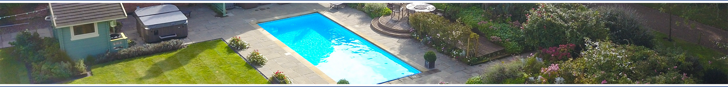 Services banner image // Wensum Pools Ltd Services
