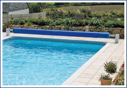 Certikin Solex Solar Powered Roller // Outdoor Domestic Solar Roller at Wensum Pools Ltd