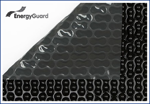 EnergyGuard // Certikin Geo-Bubble Solar Blanket at Wensum Pools Ltd