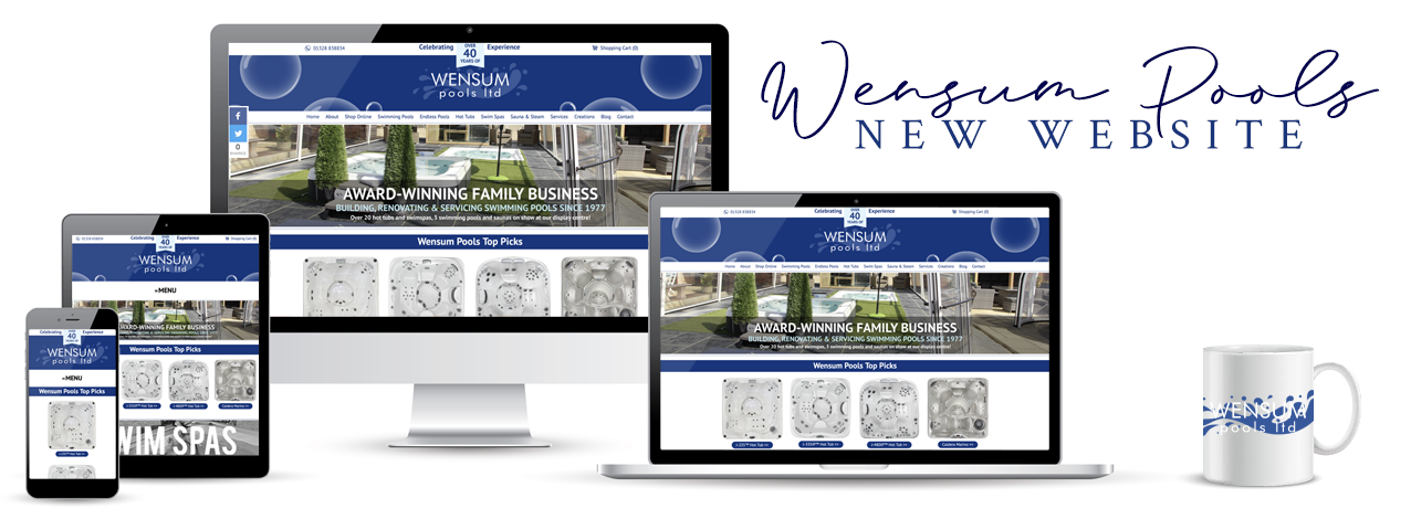 The brand NEW Wensum Pools Ltd website is now live! // Wensum Pools Ltd