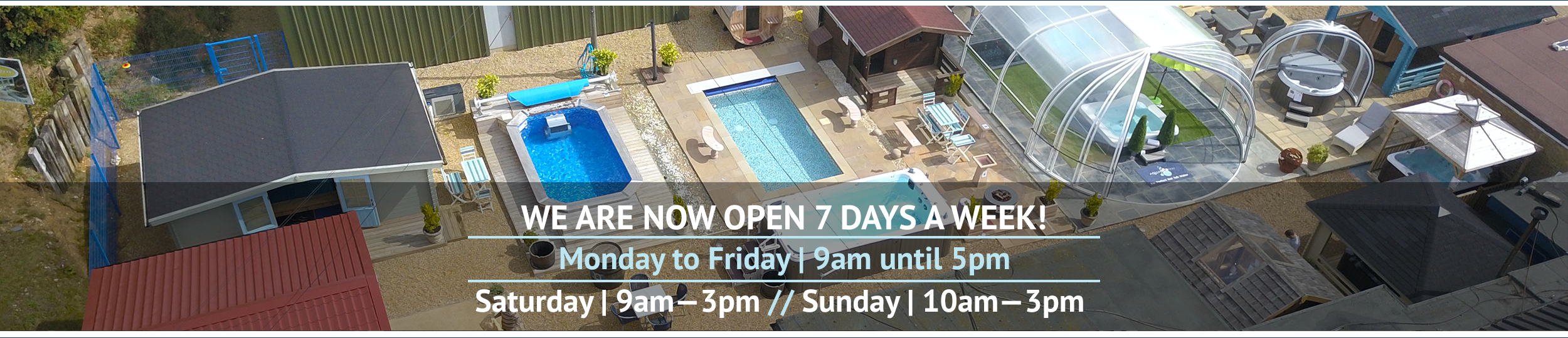 Opening Times // Wensum Pools Ltd