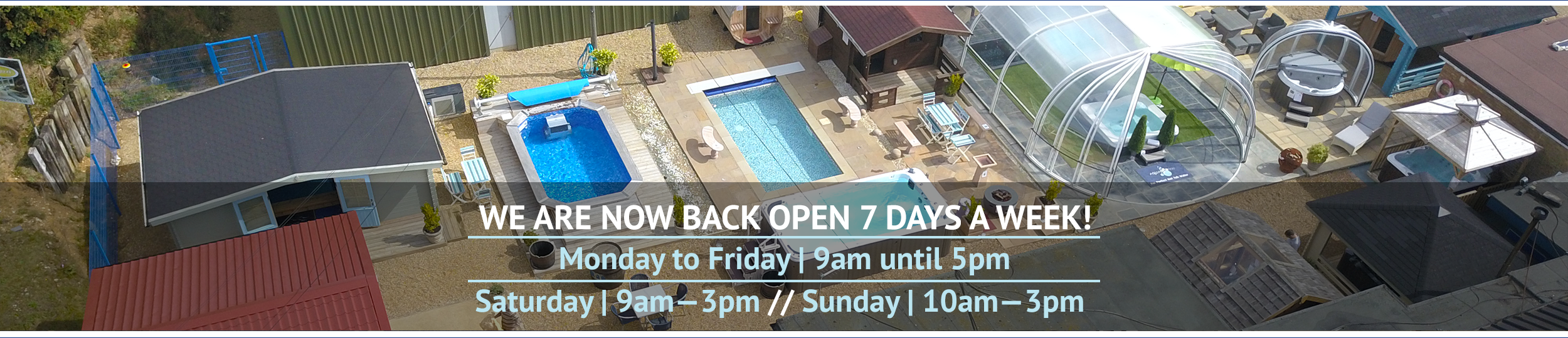 Wensum Pools is now open 7 days a week, adhering to social distancing rules.