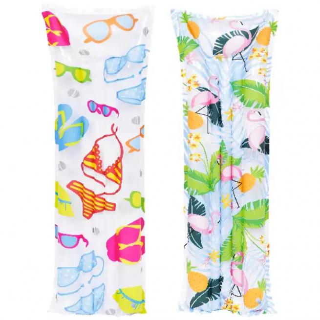 Bikini and flamingo design air mat