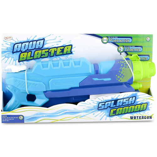 Aqua Blaster Splash Cannon watergun boxed