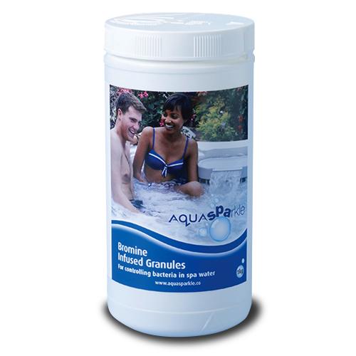 Aquasparkle spa bromine granules 1kg